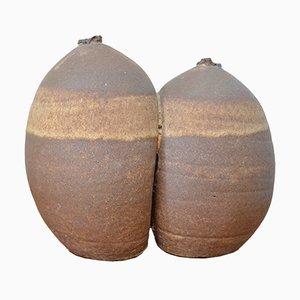 Dänische Vase aus Keramik, 1970er