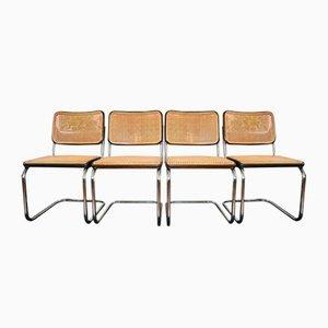 Vintage B32 Stühle von Marcel Breuer für Thonet, 4er Set
