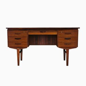 Mid-Century Danish Rosewood Veneered Desk