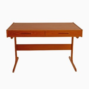 Mid-Century Teak Desk by Dyhrlund & Smith
