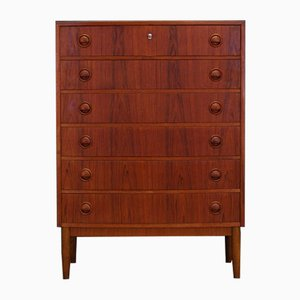 Vintage Danish Teak Chest of Drawers by Kai Kristiansen