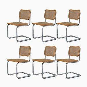 Vintage Cesca Stühle von Marcel Breuer, 1970er, 6er Set
