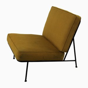 Mid-Century Modern Easy Chair with Fabric