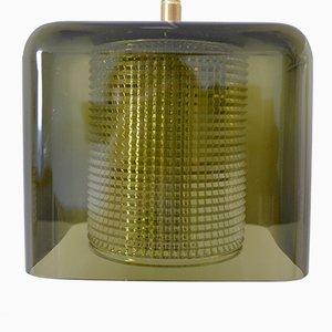 Lámpara colgante escandinava de Carl Fagerlund para Orrerfors, años 60