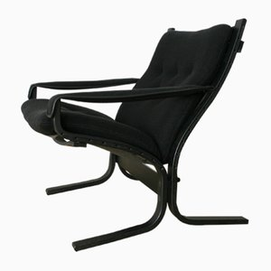 Black Siesta Chair by Ingmar Relling for Westnofa, 1960s