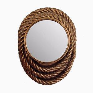 Vintage Curved Mirror