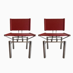 Series 8600 Chairs by Hans Ulrich Bitsch for Kusch & Co, 1980s, Set of 2