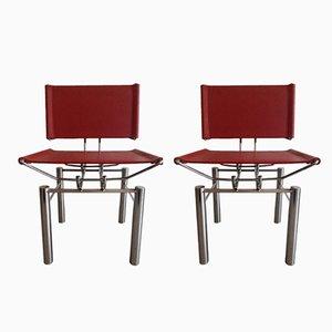 Series 8600 Stühle von Hans Ulrich Bitsch für Kusch & Co,1980er, 2er Set