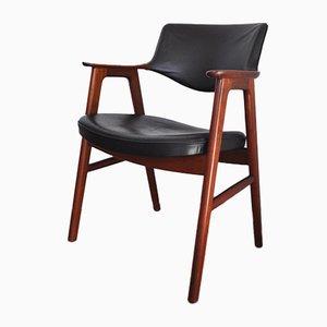 Dänischer Moderner Teak Armlehnstuhl von Erik Kirkegaard für Høng Stolefabrik, 1950er