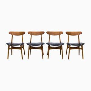 Vintage CH30 Dining Chairs by Hans J. Wegner for Carl Hansen & Søn, Set of 4