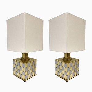 Lampade da tavolo di Stefano Bono Spadafora, anni '70, set di 2