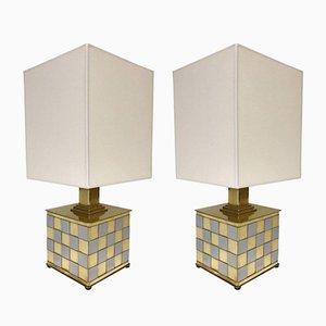 Lámparas de mesa de Stefano Bono Spadafora, años 70. Juego de 2