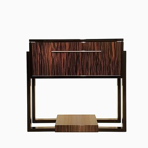 Art Deco Console with Macassar Veneer