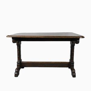 Table de Salle à Manger Victorienne Style Gothique en Chêne