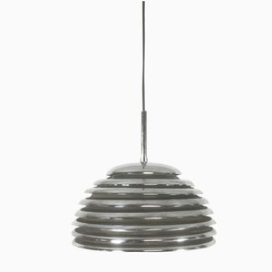 Chrome Hanging Light by Kazuo Motozawa for Staff, 1970s