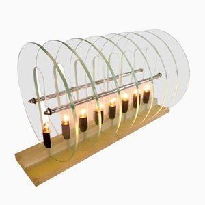 Lampe Kinetic Optic, Italie, 1980s