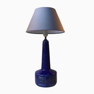 Grande Lampe de Bureau Vintage en Céramique par Annelise & Per Linnemann-Schmidt pour Palshus, Danemark, 1970s