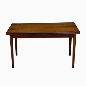 Dänischer Vintage Teak Furnier Tisch