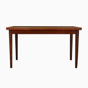 Dänischer Mid-Century Teak Furnier Tisch