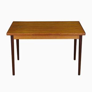 Table Scandinave Vintage en Contreplaqué Teck