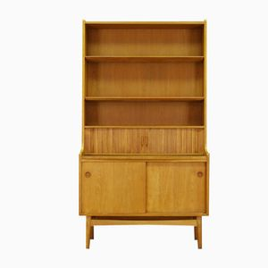 Vintage Danish Shelving Unit in Ash by Johannes Sorth