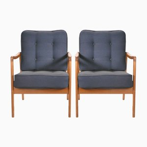 FD109 Armchairs by Ole Wanscher for France & Søn, 1970s, Set of 2