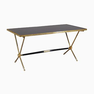 Vintage Brass Coffee Table by Raphael Raffel