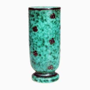 Vase Vintage Vert de Gustavsberg