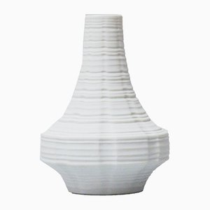 Space Age Vase aus Biskuitporzellan von Heinrich, 1969