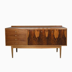 Hamilton Sideboard in Rosewood and Mahogany by Robert Heritage for Archie Shine, 1950s