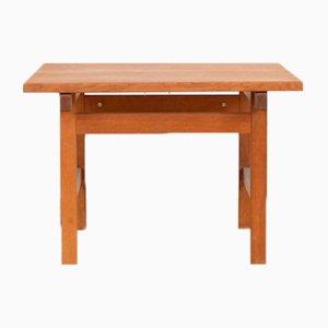 Tavolo in legno di quercia massiccio di Hans J. Wegner per Andreas Tuck, anni '60