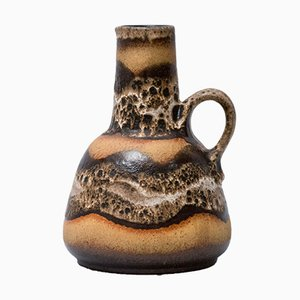 Vase Fat Lava 1054/22 Mid-Century de Dumler & Breiden