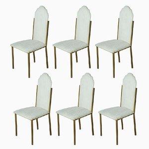 Chaises de Salon Vintage par Alain Delon pour Maison Jansen, Set de 6