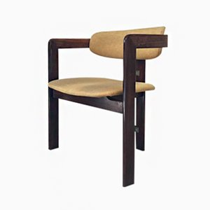 Vintage Pamplona Armchair in Rosewood by Savini for Pozzi