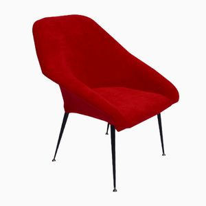 Fauteuil EVA Shell Rouge, 1970s