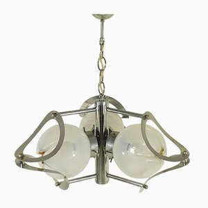 Vintage Murano Glass Chandelier, 1970s