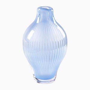 Vase Ariel par Edvin Öhrström pour Orrefors, 1952