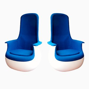 Culbuto Chairs by Marc Held for Knoll, 1970s, Set of 2