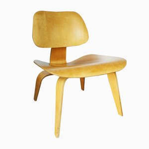 LCW Lounge Chair by Charles & Ray Eames for Herman Miller, 1950s