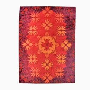Red Birk Rug from Hammer Taepper, 1970s