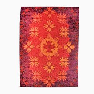 Roter Modell Birk Teppich von Hammer Taepper, 1970er
