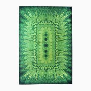 Green Minaret Carpet, 1970s