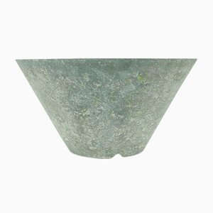 Vintage Stone Cement Planter in Grey from Eternit