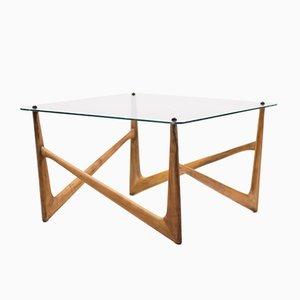Tavolino da caffè Mid-Century dal design organico, Italia