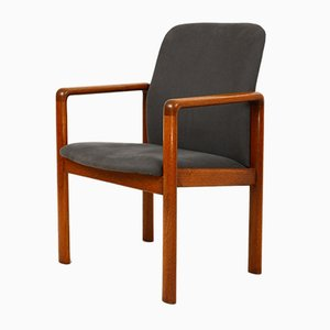 Solid Teak Armchair from Dyrlund, 1960s