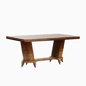 Tavolo da pranzo Art Deco vintage