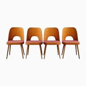 Sedie da pranzo vintage di Oswald Haerdtl per Thonet, set di 4