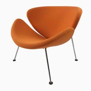Vintage Orange Slice Lounge Stuhl von Pierre Paulin für Artifort