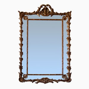 19th-Century English Mercury Glass Mirror
