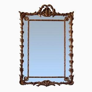 Miroir en Verre Mercuré, Angleterre, 19ème Siècle